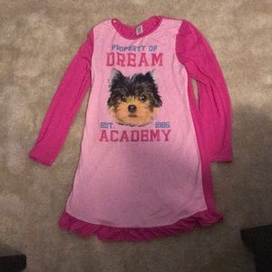Girls 14/16 pajama dress